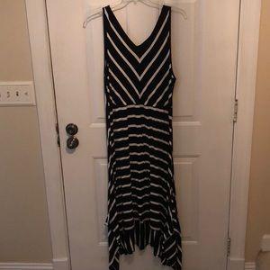 Lane Bryant HiLo maxi Dress
